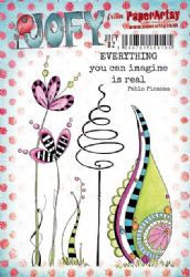 PaperArtsy Stamp - JOFY Collection JOFY82